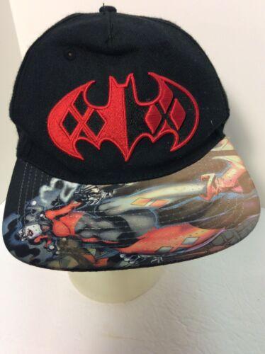 D.C. Comics Harley Quinn SnapBack Hat. Good Condit