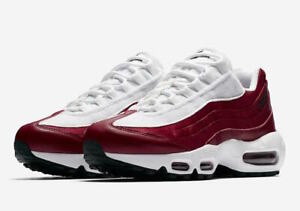 Details about Nike Air Max 95 LX NSW Womens AA1103 601 Red Crush White Running Shoes Size 6.5