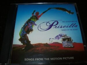 Details about CD - THE ADVENTURES OF PRISCILLA - QUEEN OF THE DESERT -  SOUNDTRACK - BRAZIL