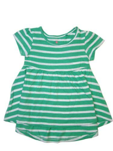 Next Girls /'vert à rayures Tunique 6-9 mois 9-12 Mois BNWT