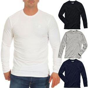 Timezone-Herren-Langarm-Shirt-Longsleeve-Rundhals-Stretch-Basic-22-10073