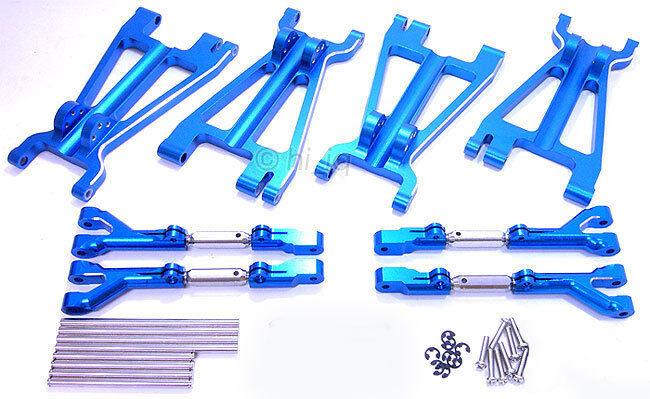 8 X De Aluminio Completa brazos de suspensión Savage 21 25 Ss 4.6
