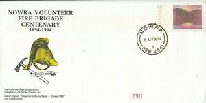 Stamp-Australia-45c-on-Nowra-Volunteer-Fire-Brigade-Centenary-souvenir-cover