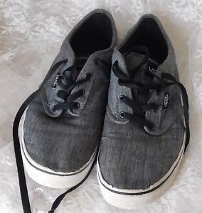 Vans Off The Wall Men s Sneakers Size 7 Gray -  721356  99a4acb78