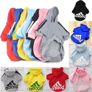 Casual-Winter-Adidog-Pets-Dog-Clothes-Warm-Hoodie-Coat-Jacket-Clothing