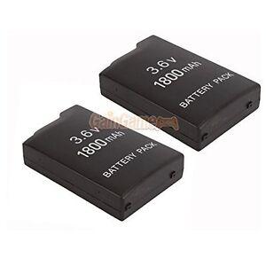 2X-New-3-6V-3600MAH-Rechargeable-Battery-For-Sony-PSP-110-PSP-1001-PSP-1000-7Z