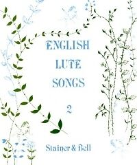 100% De Qualité English Lute Songs Book 2 Pilkington-afficher Le Titre D'origine