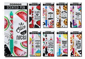Snifty Scented Pens - Chocolate, Bubblegum, Pizza, Watermelon, Strawberry & More