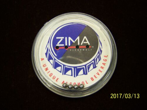 BRAND NEW !!! VINTAGE NOS ZIMA CLEARMALT LIQUOR ADVERTISING HANDHELD BAR GAME