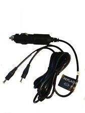 12V CAR CHARGER FOR PHILIPS DUAL SCREEN PORTABLE DVD PLAYER PD9018/07 PD9122