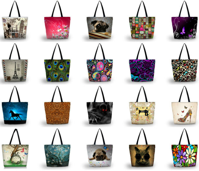 Fashion Shopping Tote Beach Shoulder Carry Bag Handbag Soft Composite Fabrics