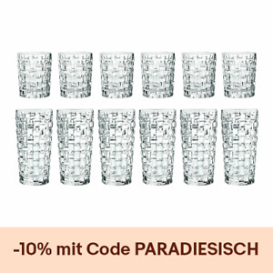 Nachtmann Bossa Nova Becherset 12tlg Trinkglas Whiskyglas Longdrinkglas Barware