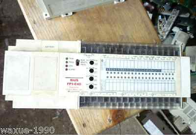 Panasonic PLC programmable controller FP1-C40 for industry use AFP12413C-F
