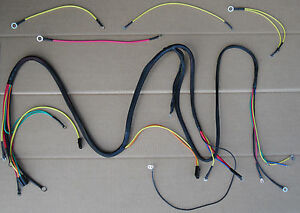 image is loading main-and-lighting-wiring-harness-for-ih-international-