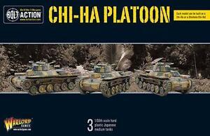Chi - Ha Platoon Bolt Action Jeux de Warlord Japonais 1ère Guerre Mondiale