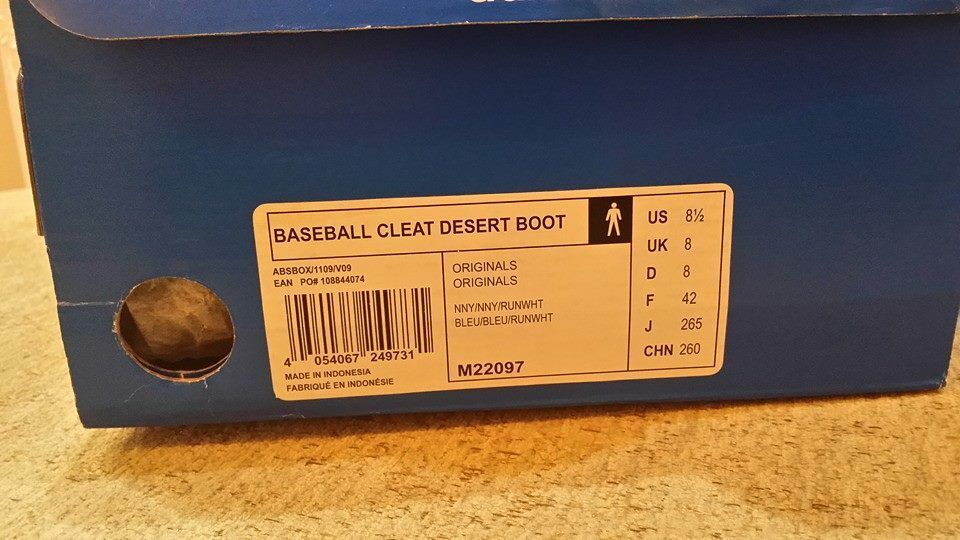 Adidas X Opening Ceremony Baseball Cleat Desert Desert Cleat Boot, Brand New, Style  M22097 d68fa9