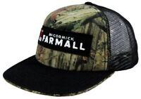 Farmall Licensed Camo & Black Flat Brim Logo Cap