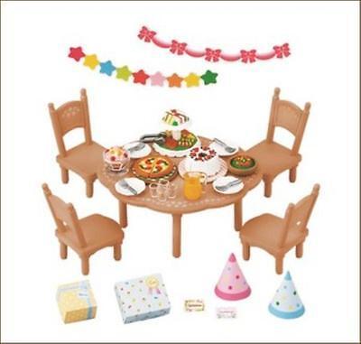 New Sylvanian Families Calico Critters Dolls Living Room Sofa set KA-518 Japan