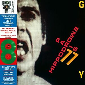 Iggy-Pop-Hippodrome-Paris-039-77-RSD-2019-2-LP-Green-Vinyl
