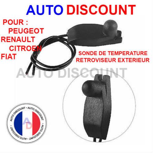 Capteur extérieur Clio Mégane Scénic Sonde température extérieure air Renault