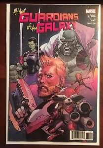 All-New-Guardians-Of-The-Galaxy-issue-1-1-50-Leinel-Yu-Variant-NM-Marvel-Now