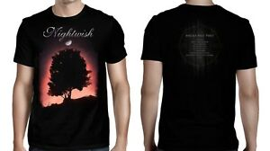 NIGHTWISH-cd-cd-ANGELS-FALL-FIRST-DECADES-Official-SHIRT-MED-new