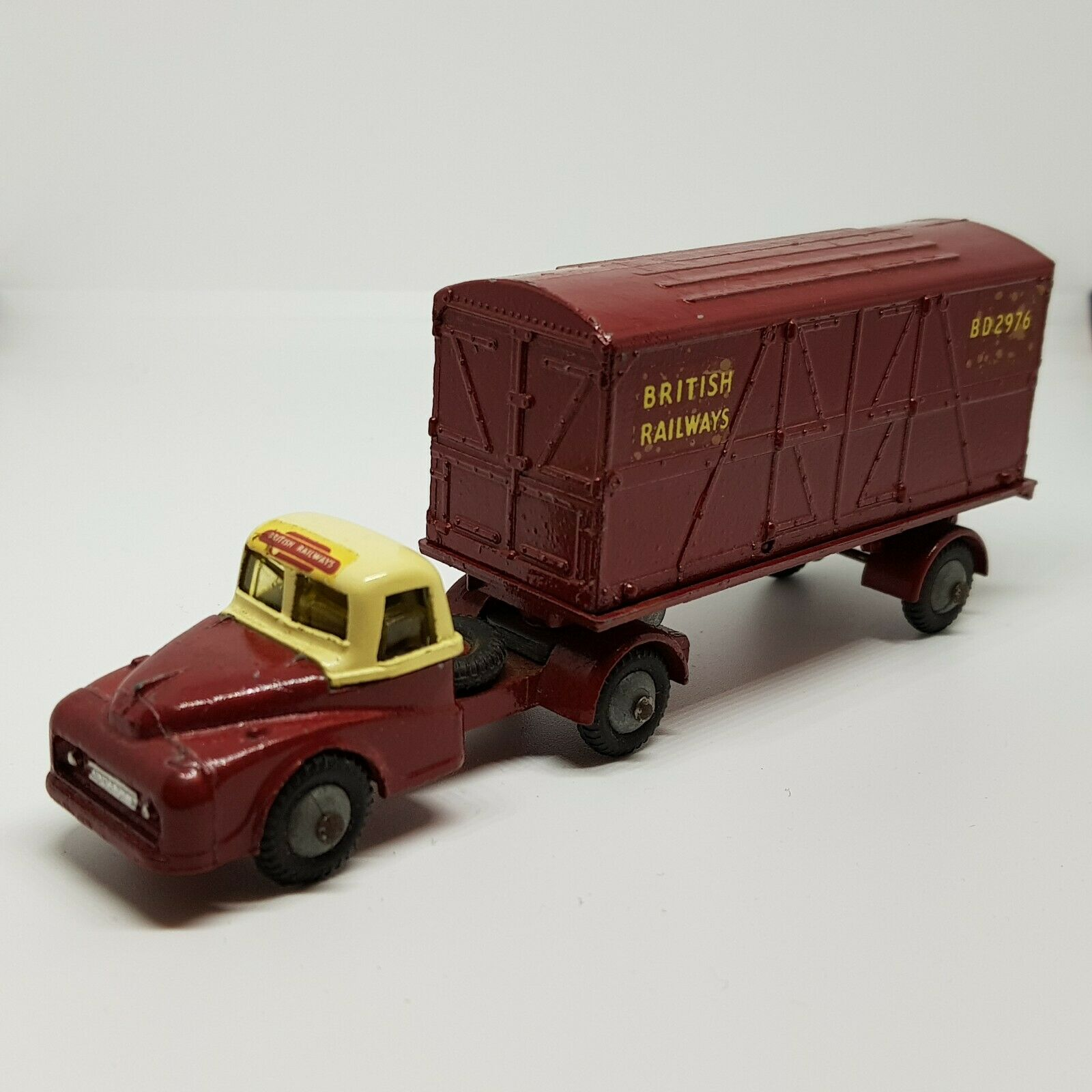 Budgie Toys 252 British Railways Container  Transporter 35  plus abordable