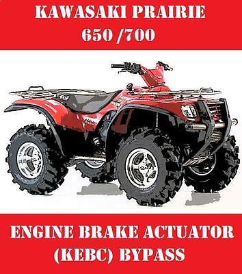 KEBC ACTUATOR BYPASS KAWASAKI PRAIRIE ATV 650 700 ENGINE BRAKE