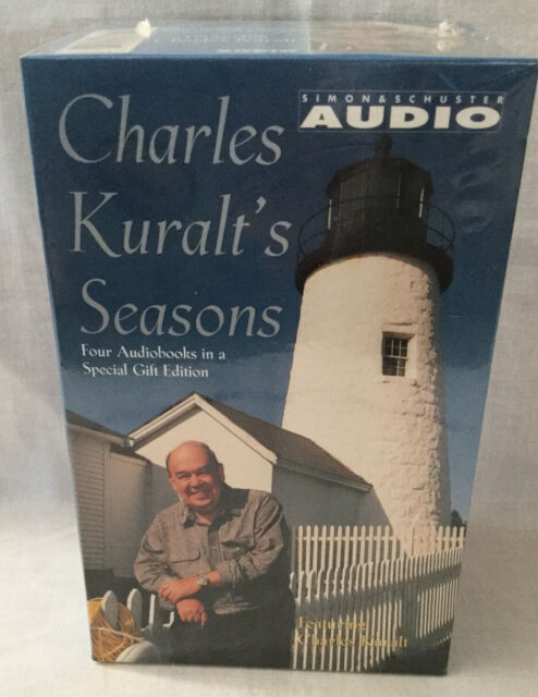 Charles Kuralt's Seasons complete boxed set of 4 audio cassettes  CBS Audio