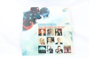 Christmas-The-Season-of-Music-Vintage-Vinyl-Record-1968-LP