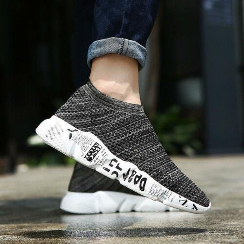 Men/'s Elegant Shoes Breathable Outdoor Sports Running Sneakers Sock Shoes NEW