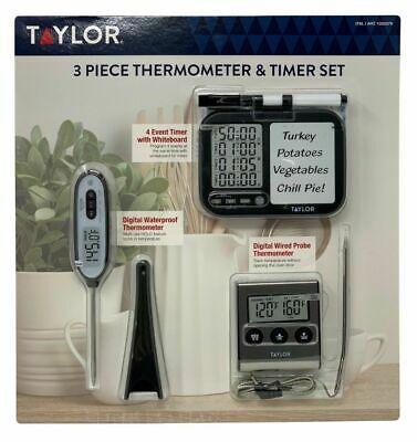 "NEW TAYLOR 5321N DIAL 3 1//2/"" STICK ON WINDOW OUTDOOR INDOOR THEROMETER NEW SALE"