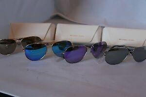 ef048956bbfbe Image is loading Michael-Kors-Kendall-I-Aviator-Sunglasses-MK5016-Gold-