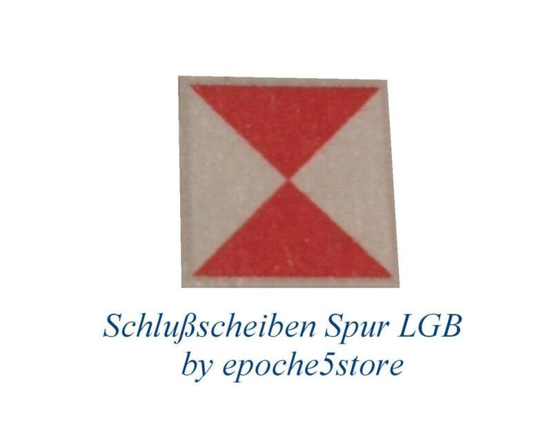 Schlußscheiben Traccia LGB 12 pezzi autoadesivo
