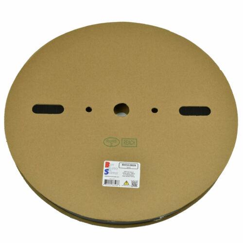 """3//4/"""" 328 Foot Roll 20mm 2:1 Ratio Heat Shrink Tubing Single Wall ID"""