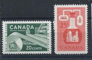 Canada-N-289-90-MNH-1956-Ressources-economiques