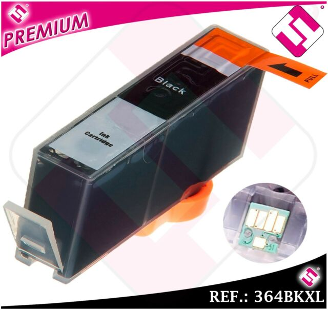 Ink Black 364 Compatible Doesn'T Original Printers Cartridge Wide With Chip