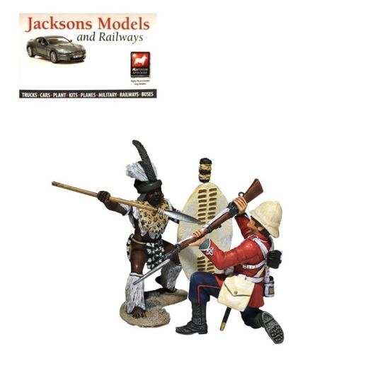 Britains 20180 No You Dont! - Zulu and 24th Foot Hand-to-Hand 2 Pce Set