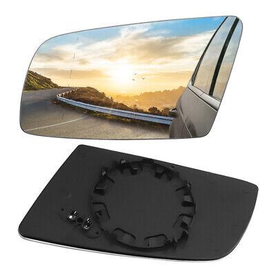 Mirror Glass Base Right Passenger Side Replaces For BMW E60 E61 E63 E64 03-2010