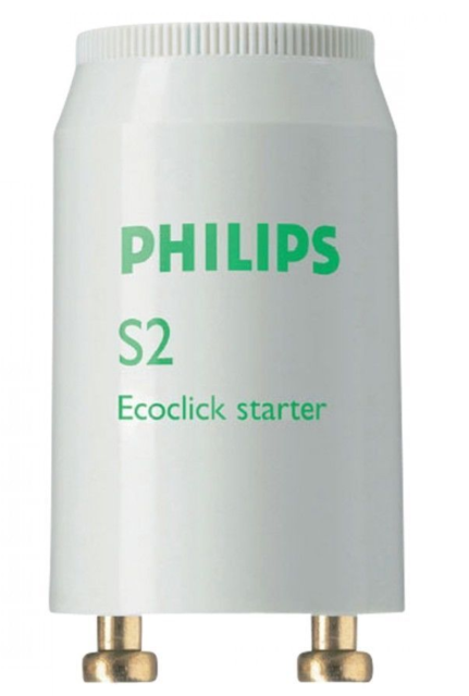 Philips S2 Fluorescent Tube starter 4W-22W Series starter 4-22W FS2 EcoClick