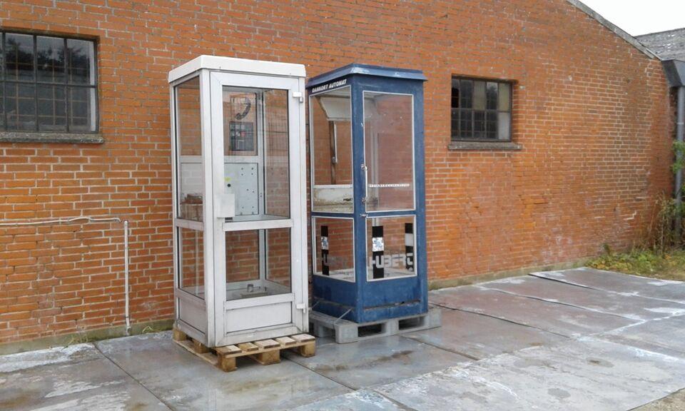 "Telefonboks i aluminium - ""RETRO"""