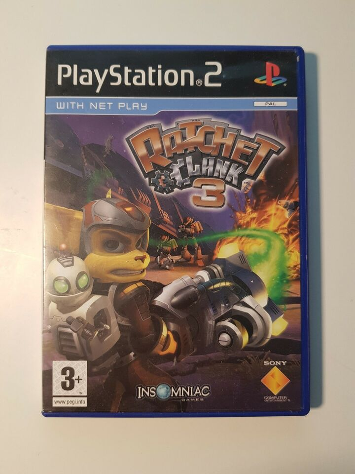 Ratchet and Clank 3, PS2