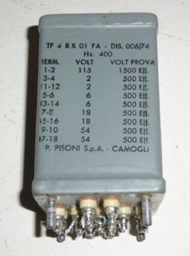 -/> Div 2-54 Volt 115 V Trafo Transformator  400 Hz