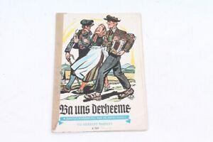 alter-Druck-Ba-uns-derheeme-Liederbuch-old-vintage-Sammler