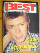 REVUE COLLECTION ** DAVID BOWIE ** BEST - ANNEE 1981 - N°158