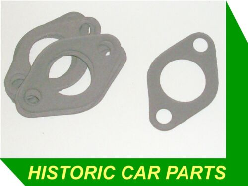 """10 x H4 1½"""" SU CARB TO MANIFOLD GASKETS MG A MGA 1600 /& De-Luxe Mk2 1960-62"""