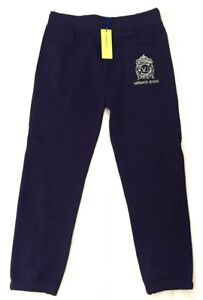 VERSACE-Jeans-Uomo-Jogging-Pantaloni-Sweathose-BLU-ARGENTO-BLUE-S-M-Nuovo-con-etichetta