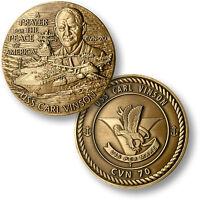 Uss Carl Vinson (b) Cvn-70 Challenge Coin. 15014.
