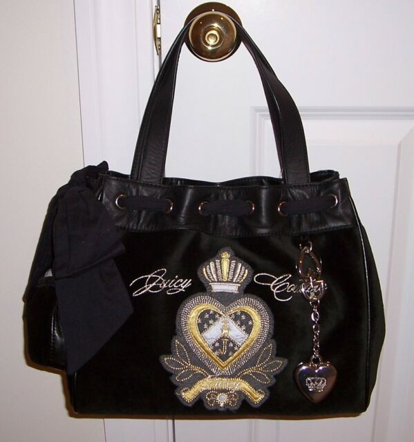 0f342c8ddb9b NWT Juicy Couture Daydreamer Heart Crown Tote Bag