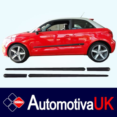 Audi A1 Rubbing StripsDoor ProtectorsSide Protection Mouldings Body Kit